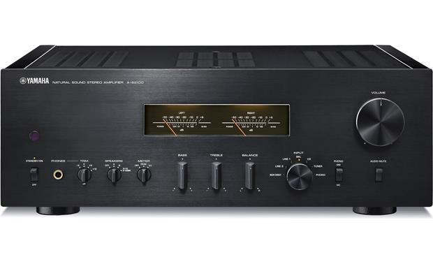 yamaha a s2100 black stereo integrated amplifier at. Black Bedroom Furniture Sets. Home Design Ideas