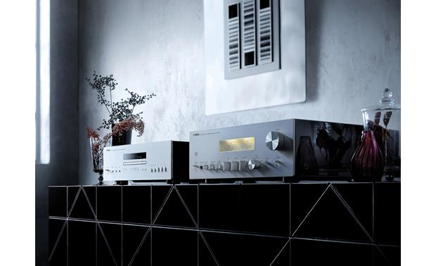 Yamaha CD-S2100 Paired with Yamaha's A-S2100 integrated amplifier