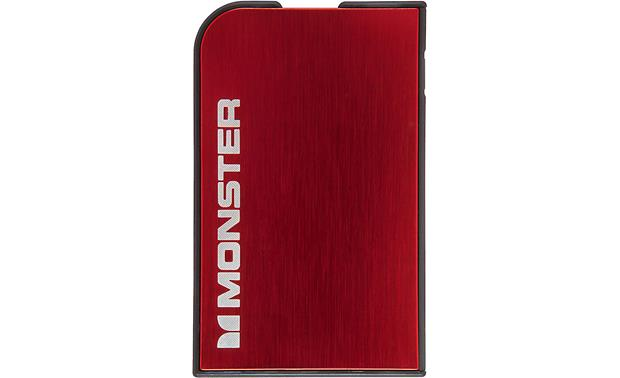 Monster Mobile® PowerCard™ Cherry Red -- front view