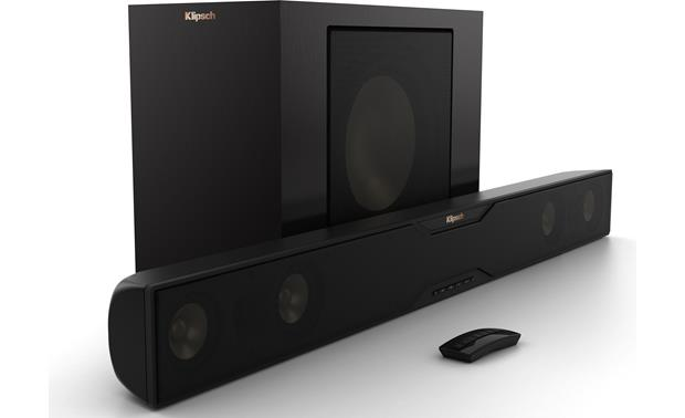 klipsch powered speakers. klipsch reference r-20b front powered speakers