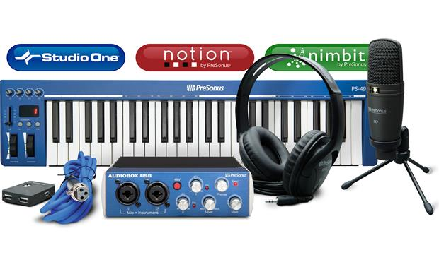 PreSonus Music Creation Suite Front