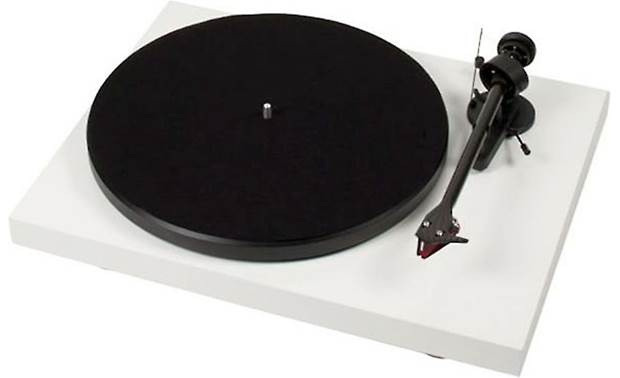 Pro-Ject Debut Carbon (DC) Gloss White (dust cover included, not shown)