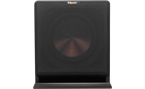 Klipsch Reference R-110SW Direct front view with grille attached