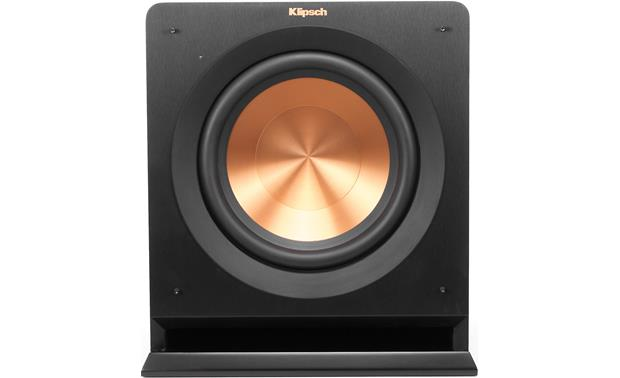 Klipsch Reference R-110SW Direct front view with grille removed
