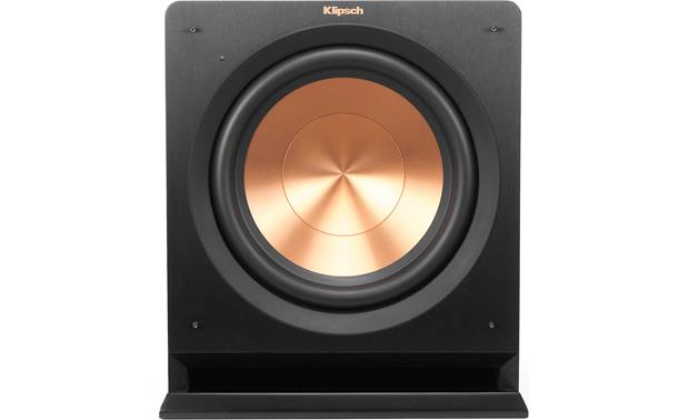 Klipsch Reference R-112SW Direct front view with grille removed