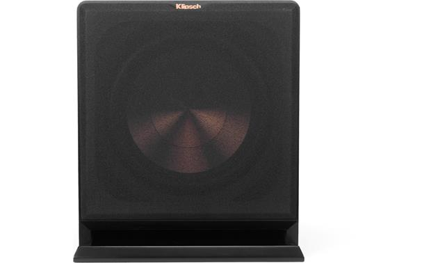 Klipsch Reference R-112SW Direct front view with grille attached