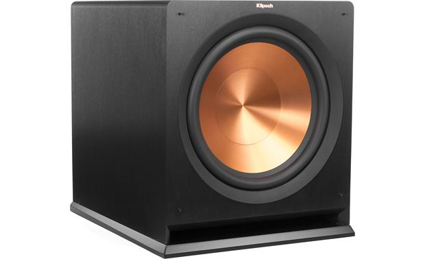 Klipsch Reference R-115SW Shown with grille off
