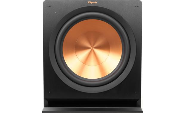 Klipsch Reference R-115SW Direct front view with grille off