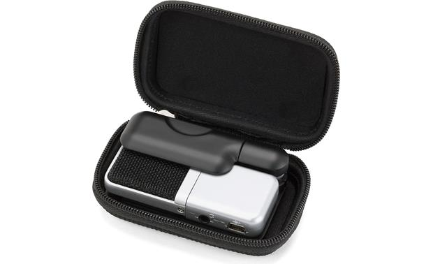 Samson Go Mic Mic and clip inside carry case
