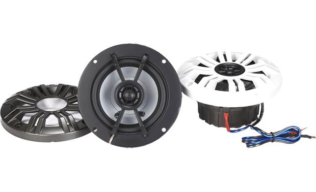 Kicker KM44CW marine speakers