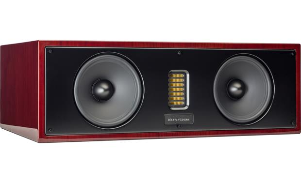 MartinLogan Motion® 50XT Grille off (Gloss Black Cherrywood)