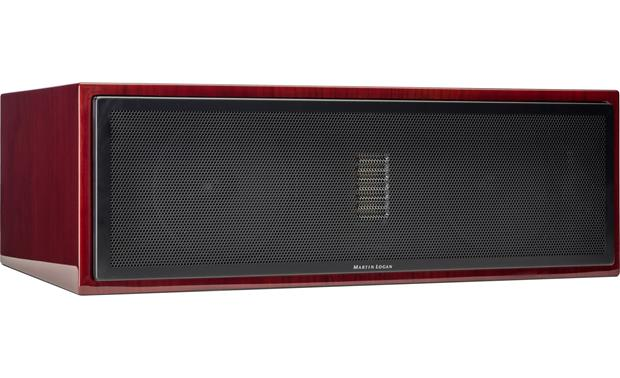 MartinLogan Motion® 50XT Grille on (Gloss Black Cherrywood)