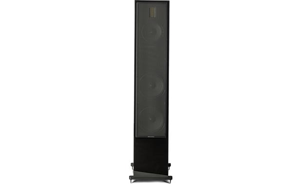 MartinLogan Motion® 60XT Direct front view with grille on (Gloss Black)