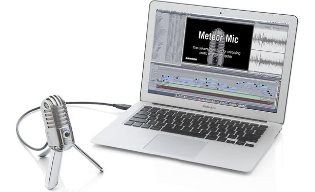 Samson Meteor Mic Recording setup (laptopd not included)