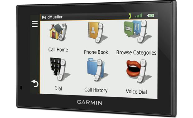 Garmin nüvi® 2589LMT Portable navigator with voice-activated
