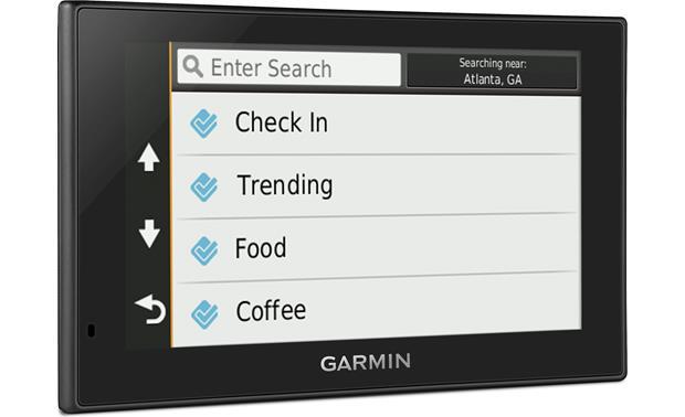 Garmin nüvi® 2589LMT Portable navigator with voice-activated