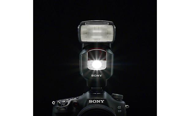 Sony HVL-F43M LED video light included