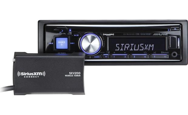 g500SXM145B f alpine cde sxm145bt cd receiver with free siriusxm satellite radio  at gsmx.co