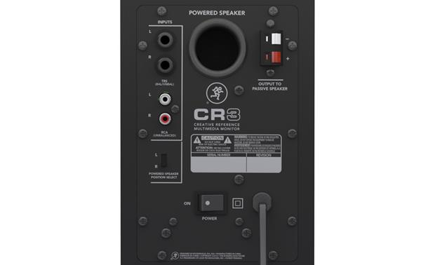 Mackie CR3™ Creative Reference™ Multimedia Monitors Powered speaker
