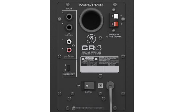 Mackie CR4™ Creative Reference™ Multimedia Monitors Powered speaker