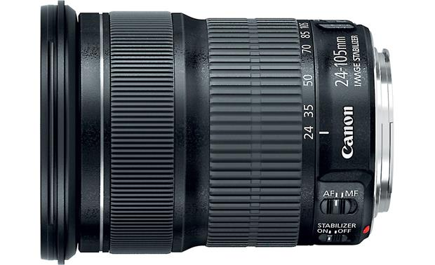 Canon EF 24-105MM f/3.5-5.6 IS STM Top view