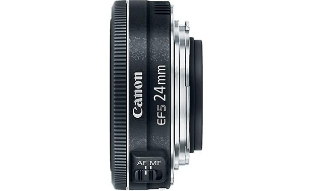 Canon EF-S 24mm f/2.8 STM Top view