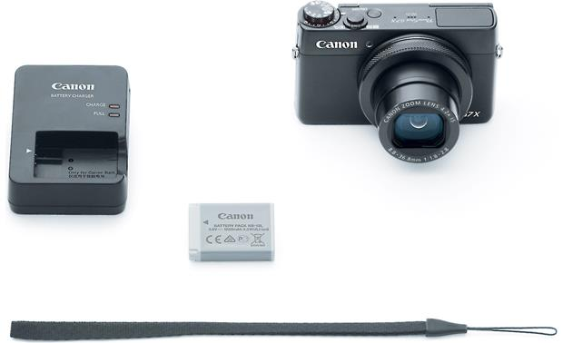 Canon PowerShot G7 X Shown with included accessories