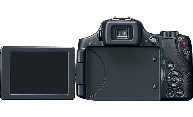 Canon PowerShot SX60 HS Vari-angle LCD screen helps frame and review shots