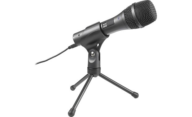 Audio-Technica AT2005USB Mic with included tripod stand