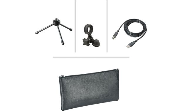 Audio-Technica Solo Podcast Bundle Included accessories