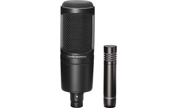 Audio-Technica Microphone Pair AT2020 (left) and AT2021 (right)