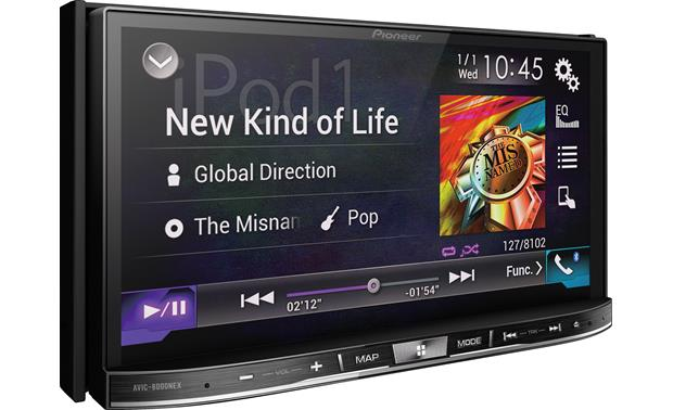 Pioneer AVIC-8000NEX Take avantage of the receiver's multi-touch 7