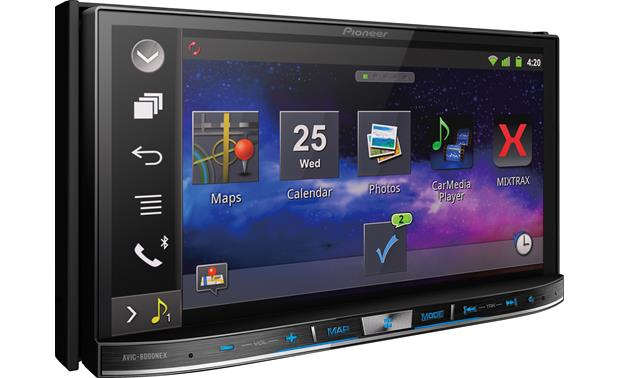 Pioneer AVIC-8000NEX Pioneer's AppRadio mode puts road-ready apps in your dash