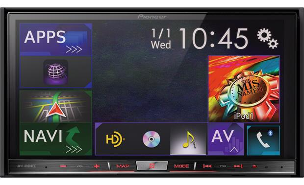 Pioneer AVIC-8000NEX The NEX interface makes it easy to switch between sources