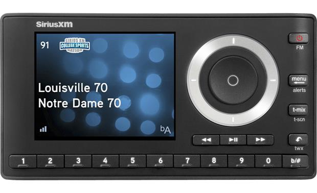 SiriusXM Onyx Plus & SXSD2 Package Color display and simple control knob