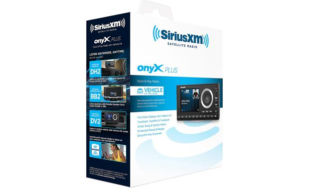 SiriusXM Onyx Plus Packaging