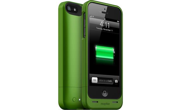 baac7e84b56 mophie juice pack helium™ (Green) Ultra-thin iPhone® 5/5S case with ...