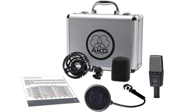 AKG C414 XLS Mic and included accessories