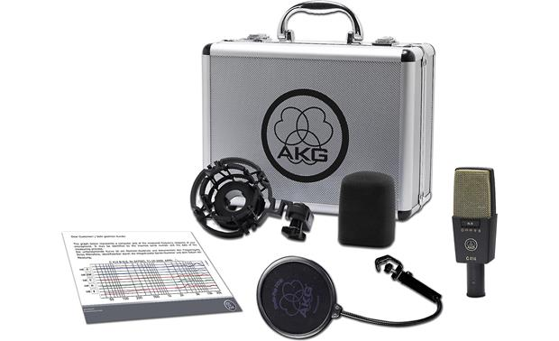 AKG C414 XLII Mic with included accessories