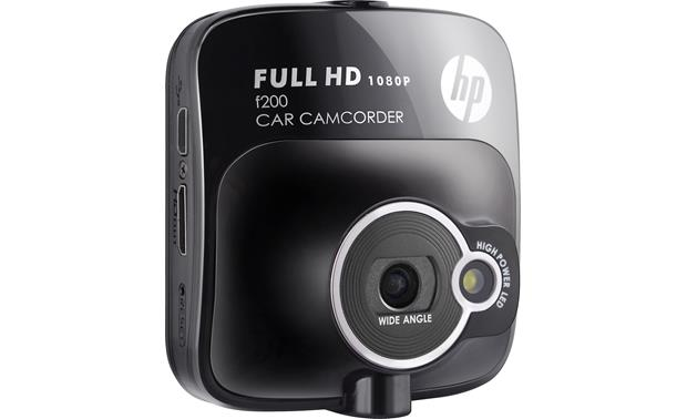 HP f200 Car Camcorder Front