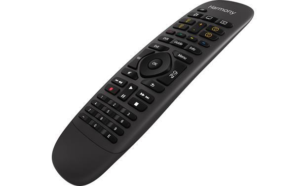 Logitech® Harmony® Companion Black - right front view