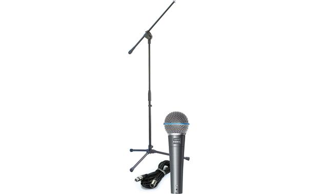 Shure Beta 58A Vocal Package Front
