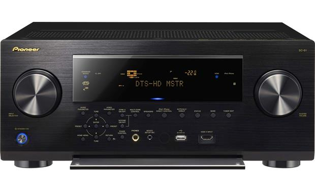 Pioneer Elite® SC-81 7 2-channel home theater receiver with Apple
