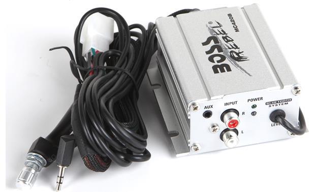 Boss Audio Systems mc420b Round 2-VOIES 600/W Car Speakers Car Speakers 2-VOIES; 600/W; 80//–/15000/Hz; 0.1/%; 85/dB