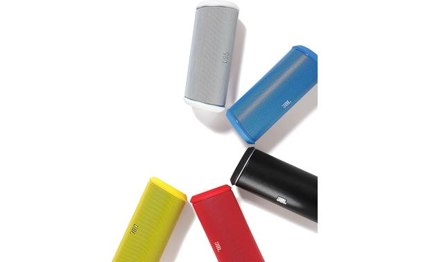 JBL Flip 2 Available in five colors (White, Blue, Black, Red, and Yellow)