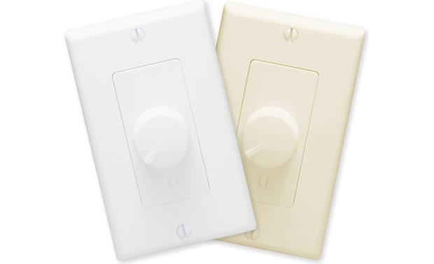 Russound ALT-126R White and light almond wall plates and knobs included