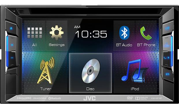 Jvc Kw V21bt Dvd Receiver At Crutchfield