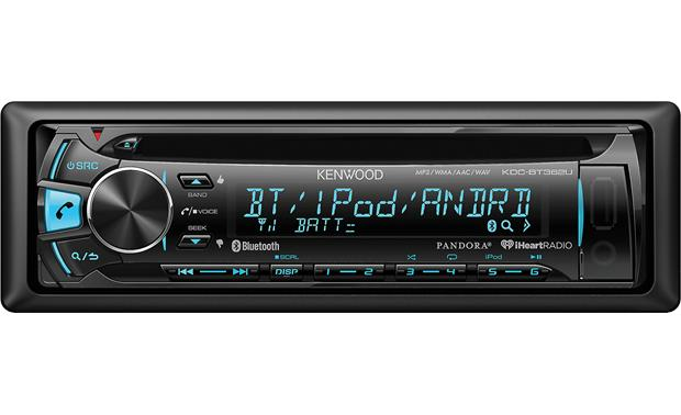 kenwood kdc bt362u cd receiver at crutchfield com kenwood kdc bt362u hook up charge and control your iphone or your android