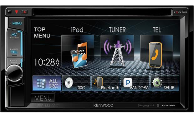 Kenwood Excelon DDX392 Get Bluetooth and deep sound-shaping tools for your music