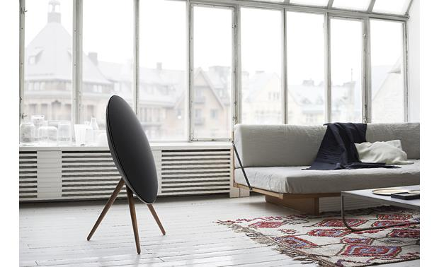 Bang & Olufsen BeoPlay A9 (Black with walnut legs) Powered speaker Olufsen Speaker System Home Wiring Diagrams on